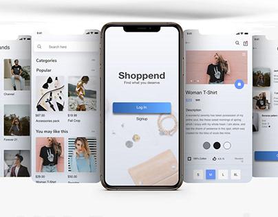 UX Design for E-commerce Mobile App