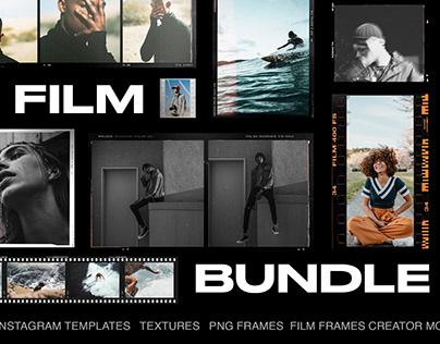 FILM FRAMES BUNDLE TEMPLATES