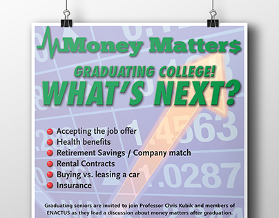 Series of Events Posters - Money Matters