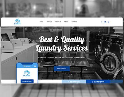 Dr Wash Website