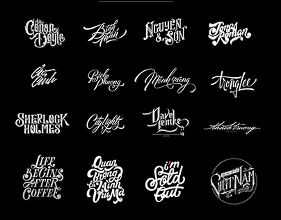 Hand Lettering Pack 2 / 2016 Half Year