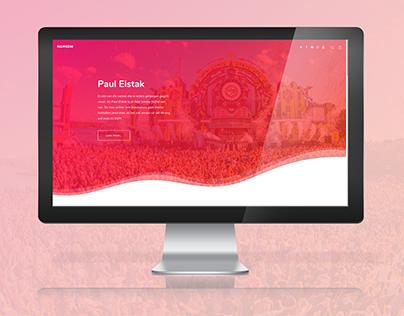 Website Paul Elstak