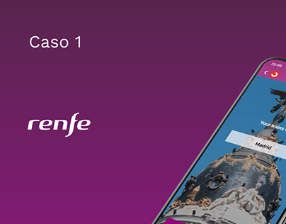 Renfe- UX/UI Redesign