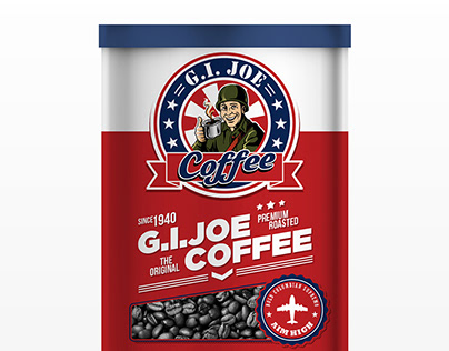 G.I.JOE Coffee - Logo & Packaging