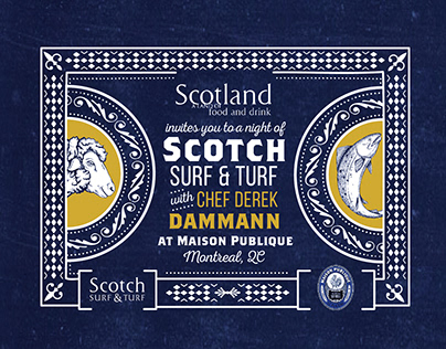 Scotch Surf & Turf Event