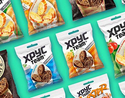 HrusTeam snacks concept
