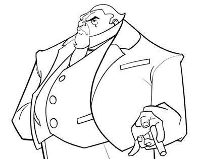 Character Designs: Hadestown