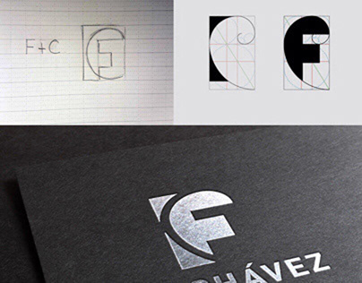 CHAVEZ PRODUCTIONS Logo Design ​