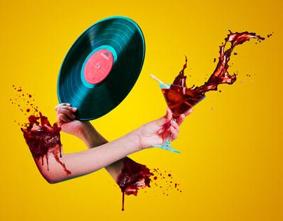 Vinyl Day Event Poster