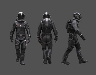 Spaceman in Black