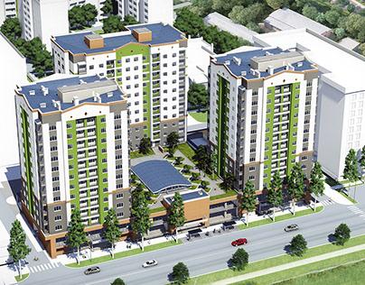 Living Complex in Bishkek