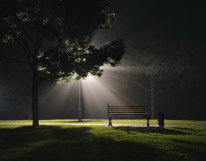 MIDNIGHT LIGHTS. CGI