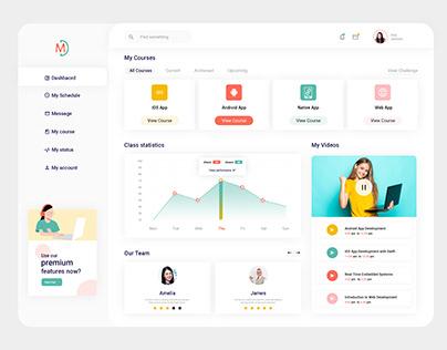 Dashboard UIUX Design