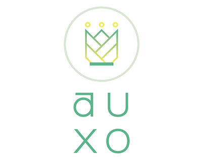 AUXO Fitness Logo Design