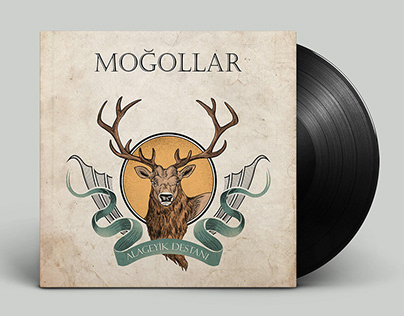 Anatolian Rock Vinyl Record Cover Design