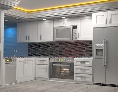 Kitchen and Closets