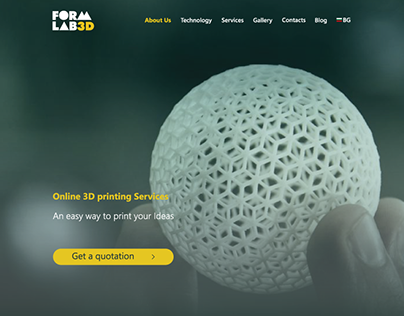 Formlab - A site for 3D printing