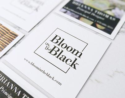 Bloom in the Black branding