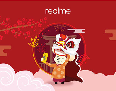 REALME - Lunar new year 2020 - Packaging