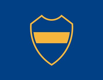 BOCA JUNIORS. Badge Redesign