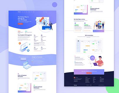 HR Agency Website Design