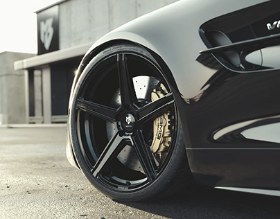 Mercedes-Benz AMG GTR - MBDesign wheels