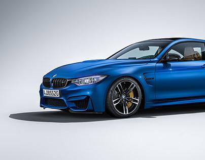 BMW M4 Studio - CGi
