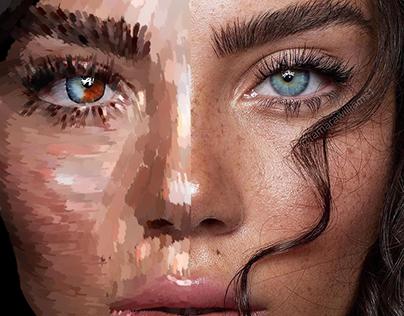 Digital Art girl