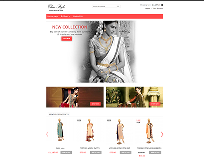 indian clothing ecommerce site