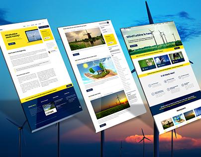 Wind turbine Website