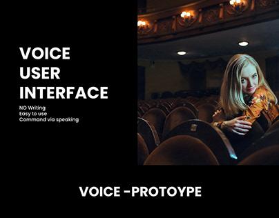 VOICE INTERACTION INTERFACE