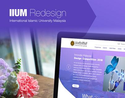 Redesign IIUM website