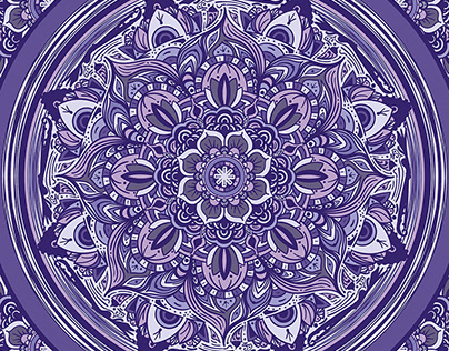 Great Purple Mandala