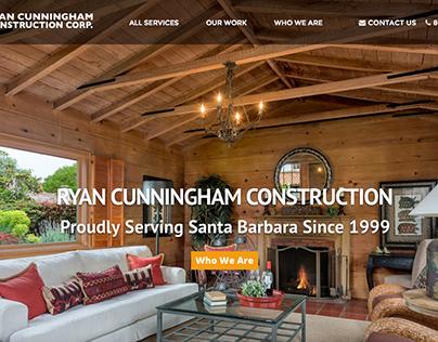 Santa Barbara Construction company. Ryan Construction.