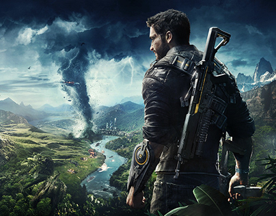 Just Cause 4 - Official Key Art
