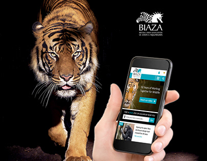 BIAZA Website Concepts