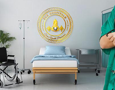 Hindu Balaji-Lord Venkateshwara Logo-SVR Hospitals