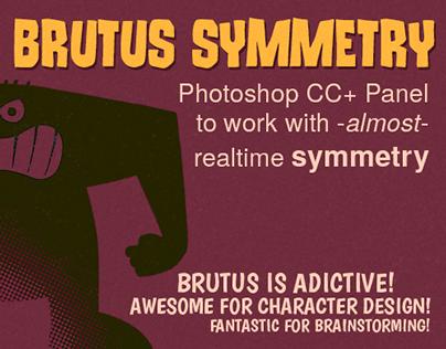 Brutus Symmetry - Photoshop CC+ Panel