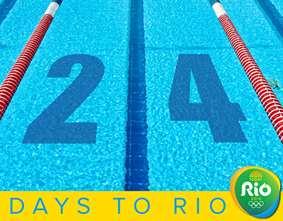 Social Graphics: Countdown to RIO series