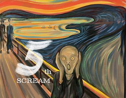 ADOBE 5TH SCREAM CONTEST