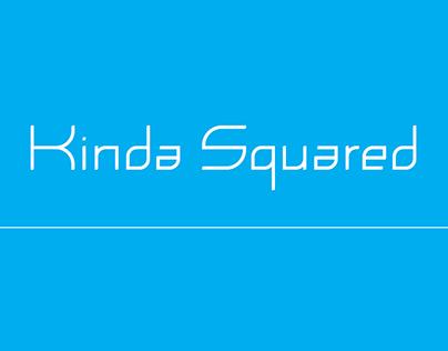 Kinda Squared Typeface