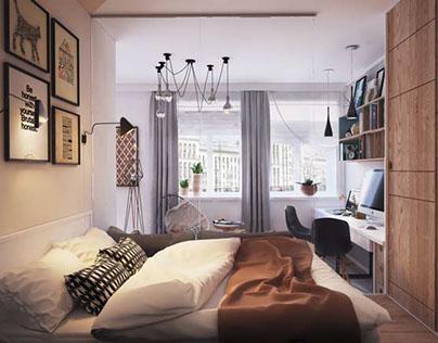 Small apartment 40sqm