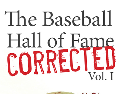 Book Cover: Baseball Hall of Fame Corrected