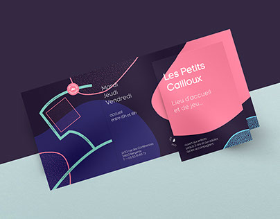 Les Petits Cailloux — Identity & Print