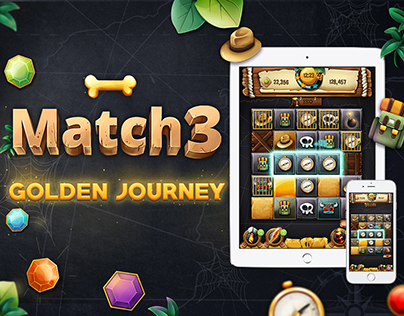 Match 3 - Golden Journey