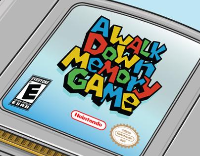 A Walk Down Memory Game
