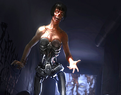 The Cyborg Midwife (from System Shock 2)