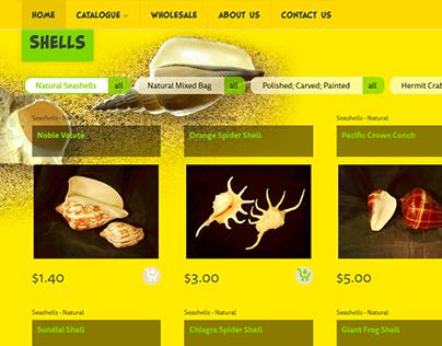Natwild Shop UX/UI