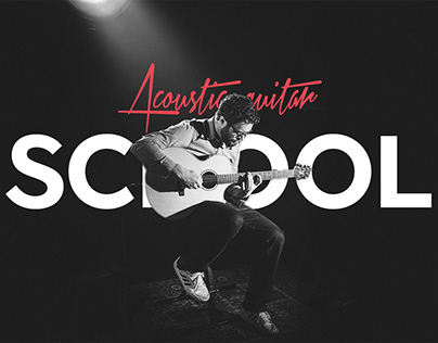 Acoustic guitar school