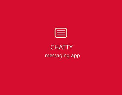 CHATTY MESSAGING APP